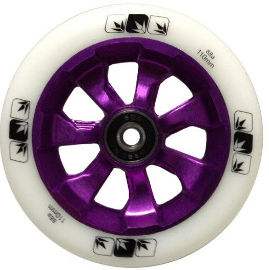 Колесо Blunt 7 Spokes 110 mm + ABEC 9 bearings Purple/White