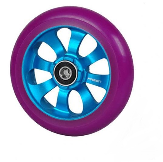 Колесо FASEN 8 spokes Blue/Purple incl. ABEC 9 110mm