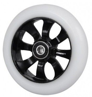 Колесо FASEN 8 spokes Black/White incl. ABEC 9 bearings 110mm