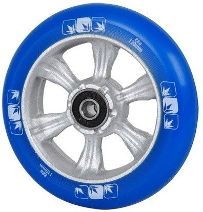 Колесо Blunt 6 Spokes 110 mm + ABEC 9 bearings Blue