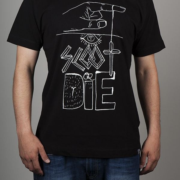 Футболка KuBars Scoot or die black tee