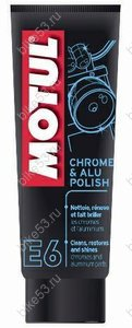 Паста Motul E6 Chrome & Alu Polish