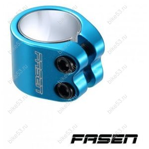 Хомут Fasen Clamp 2 Bolts Teal