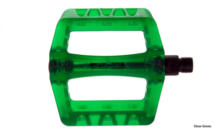 Педали 9/16 NC-17 CR44 Pro Pedals  GREEN CLEAR   101242