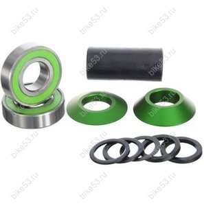 Каретка BMX SPANISH -22mm BLITZ GREEN