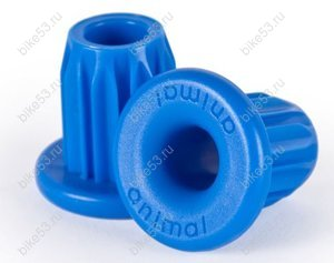 Заглушки руля ANIMAL PLASTIC BAR ENDS Blue