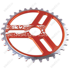 Звезда перед 30T ВМХ SPANK SPROCKET CHAINRING Zesty Orange