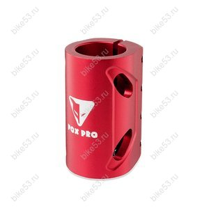 Хомут-O FOX HIC d=31,8 3bolt standard sized Red 172411