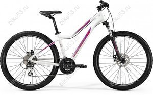 "Велосипед 26""  Merida JULIET 6.20-MD (2019) PEARL WHITE (PINK)17 рама"